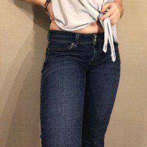 Levis Low Rise Straight Leg Jeans
